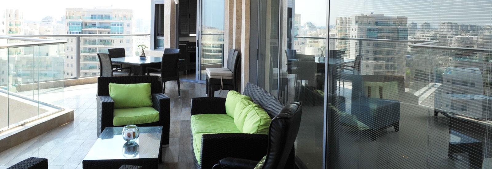 מעצבת מרפסות לדירות, עיצוב מרפסות לדירות, עיצוב פנים למרפסת