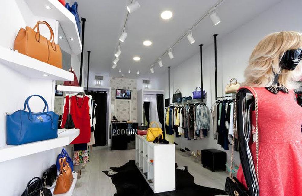 עיצוב פנים לחנויות אופנה, מעצבת פנים לחנויות אופנה